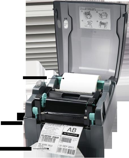 Godex G300 203dpi címke nyomtató