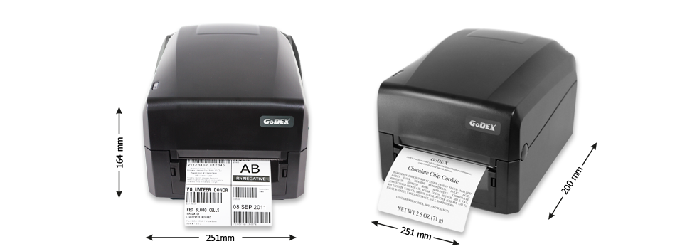 Godex GE330 300dpi címke nyomtató